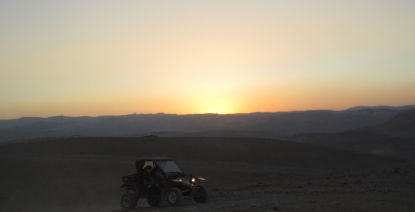 sunset ATV judean desert