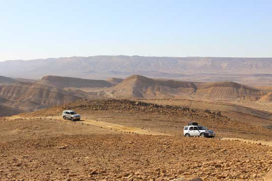 jeeping in the negev desert