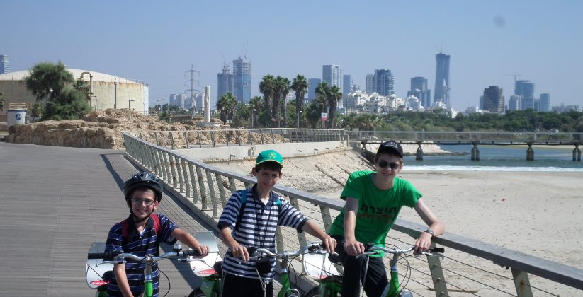 tel aviv port biking