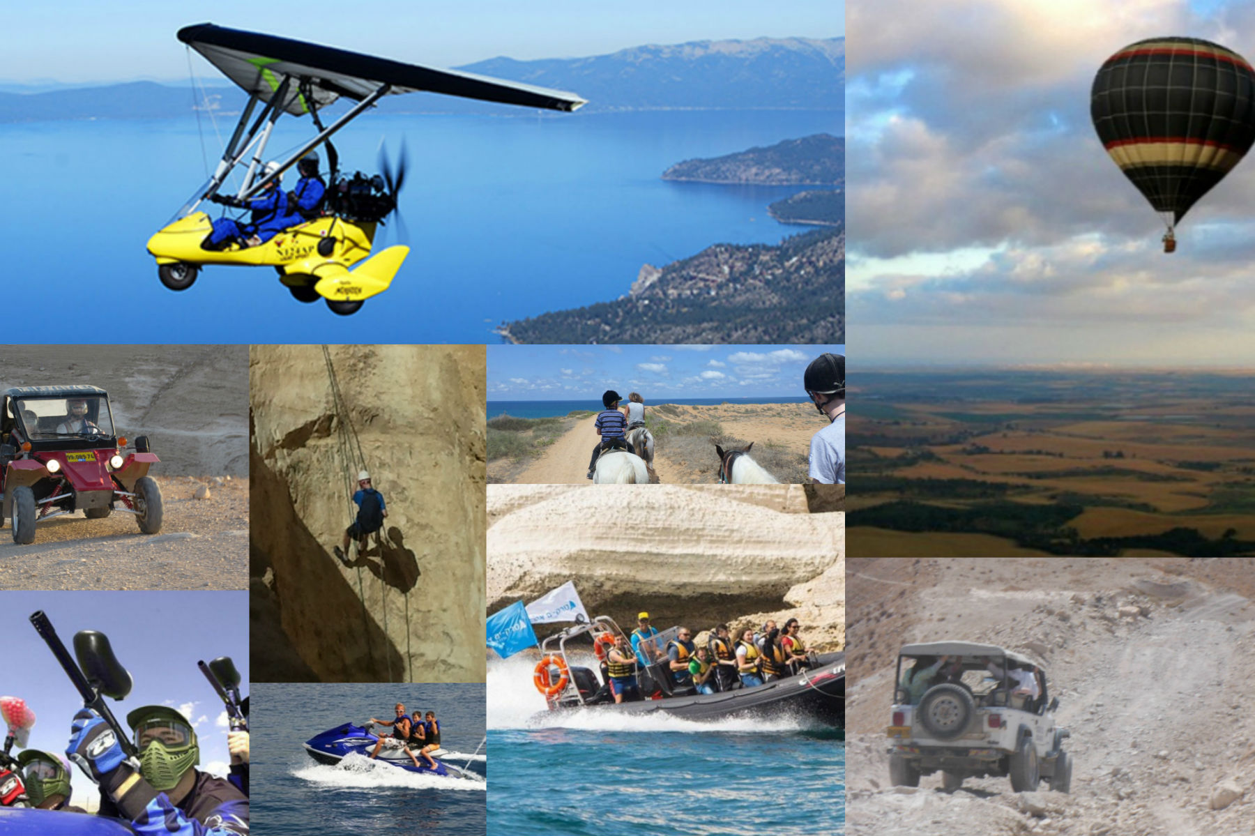 extreme israel tours