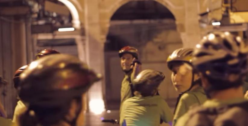 jerusalem midnight biking