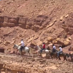 Negev Ramon Crater horseback riding