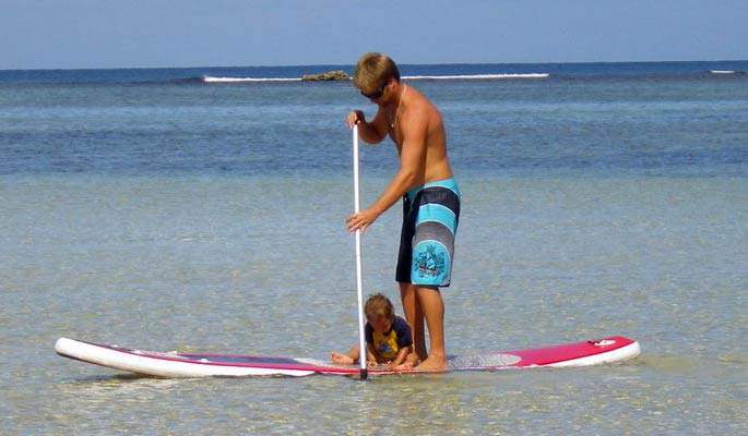 Stand up paddle israel