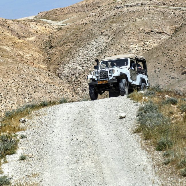 jeeping israel