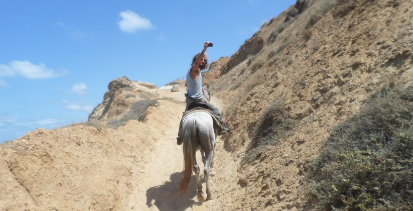 Horseback riding Netanya beach provides the perfect setting for a true Israel horseback riding experience. You will walk along the cliffs with
