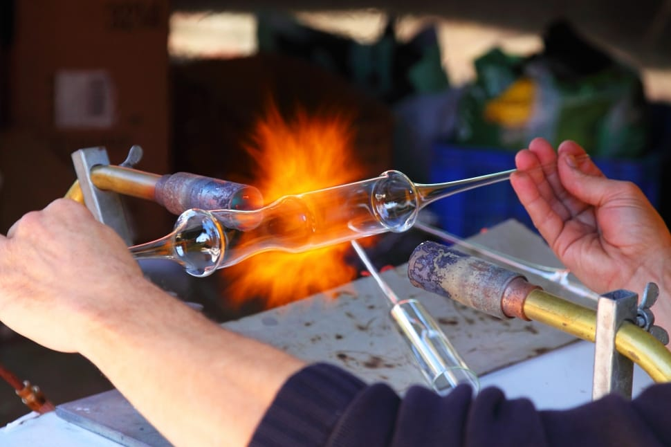 glass blowing workshop